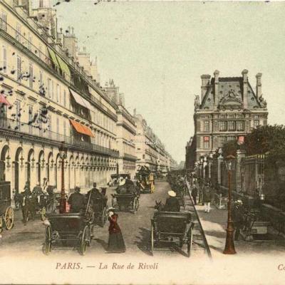 ND 55-C - PARIS - La Rue de Rivoli
