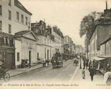 ND 680 - Perspective de la Rue de Sèvres, Chapelle St-Vincent de Paul
