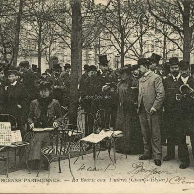ND 720 - La Bourse aux Timbres - Champs-Elysées