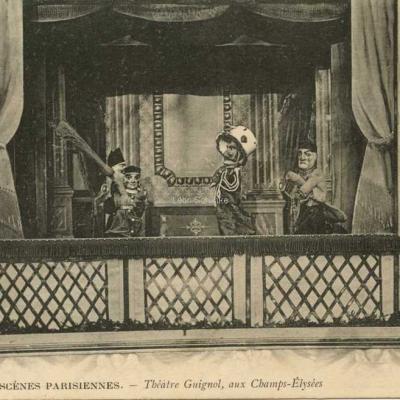 ND 729 - Théâtre Guignol, aux Champs-Elysées