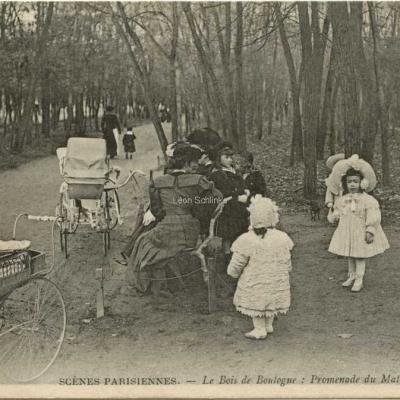 ND 736 - Le Bois de Boulogne - Promenade du Matin