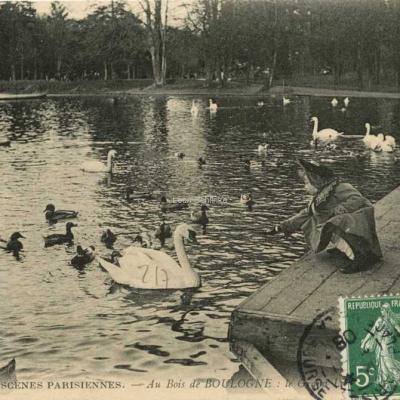ND 737 - Au Bois de BOULOGNE · Le Grand Lac