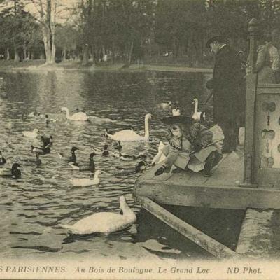 ND 738 - Au Bois de Boulogne · Le Grand Lac
