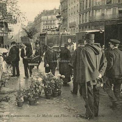 ND 755 - Le Marché aux Fleurs · La Clôture du Marché