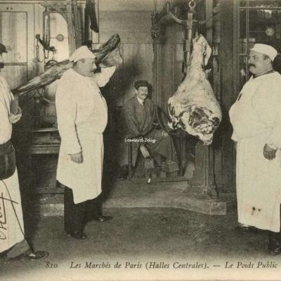 ND 810 - Le Poids Public de la Boucherie