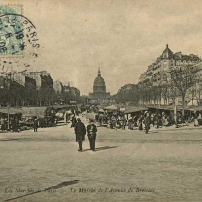 ND 823 - Le Marché de l'Avenue de Breteuil