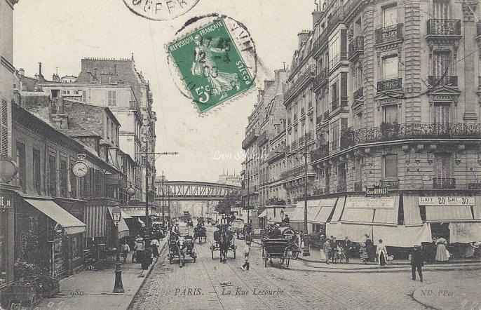 ND 980 - La Rue Lecourbe