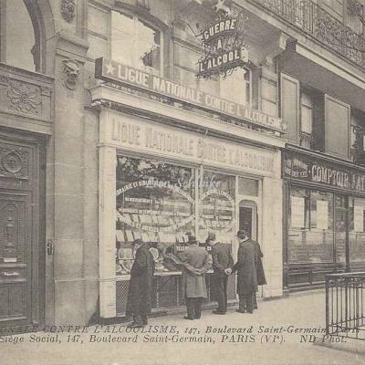 ND - Ligue Nationale contre l'Alcoolisme, 147, Bd St-Germain