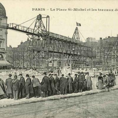 Non identifié - Place Saint-Michel