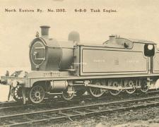 North Eastern Railway N° 1352 - 4-8-0 Tank Engine
