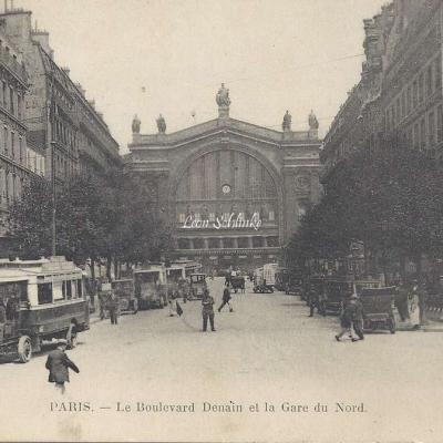 O.O. 3872 - Le Boulevard Denain et la Gare du Nord
