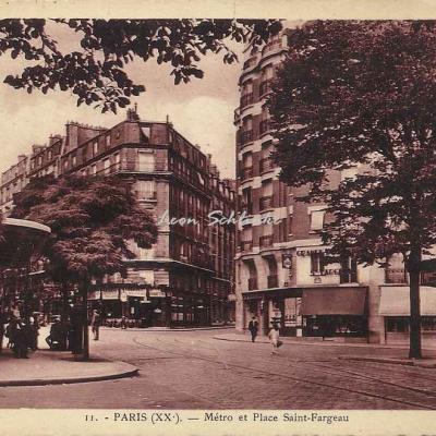 Omnia 11 - Métro et Place Saint-Fargeau
