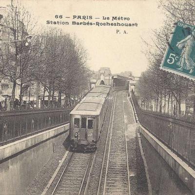 P.A. 66 - Le Métro, Station Barbès-Rochechouart