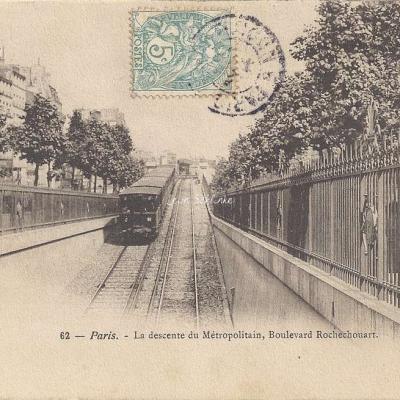 P.H. & Cie 62 - La descente du Métropolitain, Bd Rochrchouart
