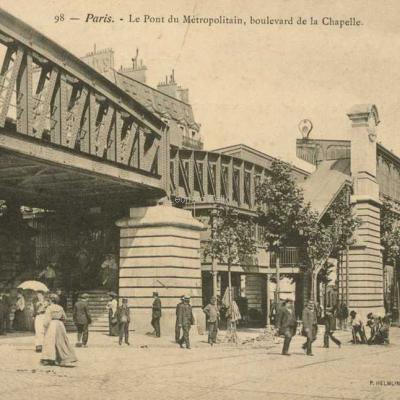 P.H & Cie 98 - Le Pont du Métro, Boulevard de la Chapelle