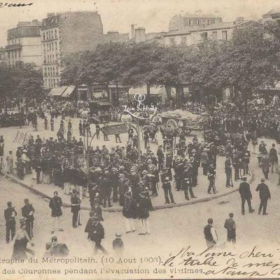 P.M.&Cie - Catastrophe 1903 - L'évacuation des victimes