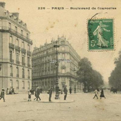 PA 226 - PARIS - Boulevard de Courcelles