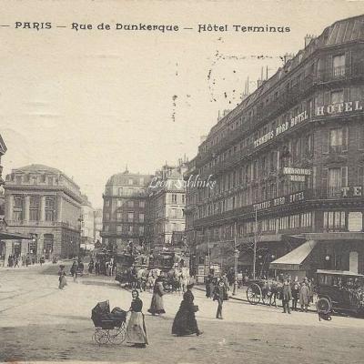 PA 72 - Rue de Dunkerque - Hôtel Terminus