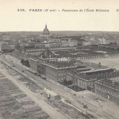 CM 228 - Panorama de l'Ecole Militaire