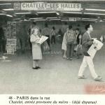 Panthéon ed. 48 - Entrée provisoire du métro