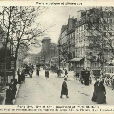 Breger A. - Paris - Boulevard et Porte St-Denis