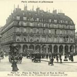 Breger A. - Paris - Place du Palais Royal et rue de Rivoli