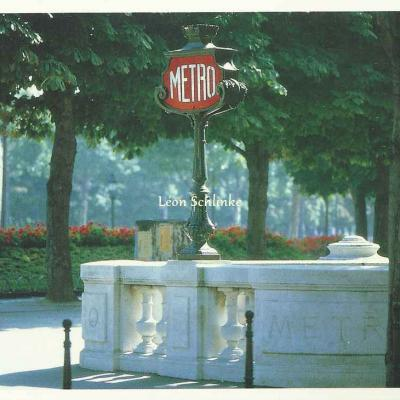 Paris-Cartes P 44 - Bouche de Métro, Champs-Elysées