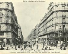 PARIS I° et II° - Rue Etienne Marcel