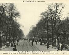 PARIS I° et IV° - Boulevard de Sebastopol