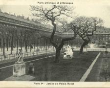 PARIS I° - Jardin du Palais Royal