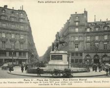 PARIS I° - Place des Victoires - Rue Etienne Marcel