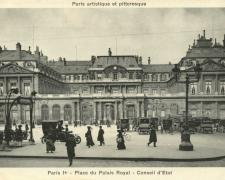 PARIS I° - Place du Palais Royal - Conseil d'Etat