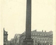 PARIS I° - Place et Colonne Vendôme