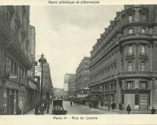 PARIS I° - Rue du Louvre