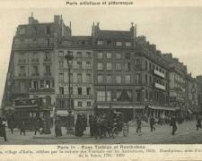 PARIS I° - Rues Turbigo et Rambuteau