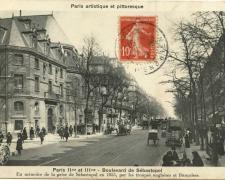 PARIS II° et III° - Boulevard de Sébastopol