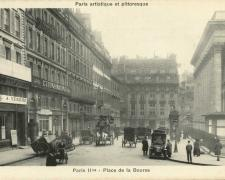 PARIS II° - Place de la Bourse