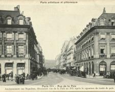 PARIS II° - Rue de la Paix