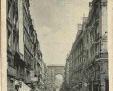 PARIS II° - Rue et Porte St-Denis