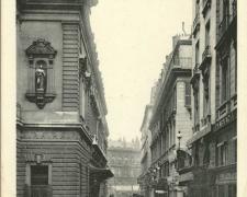 PARIS II° - Rue Favart - Théâtre de l'Opéra Comique