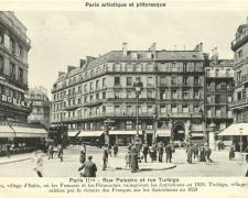 PARIS II° - Rue Palestro et rue Turbigo