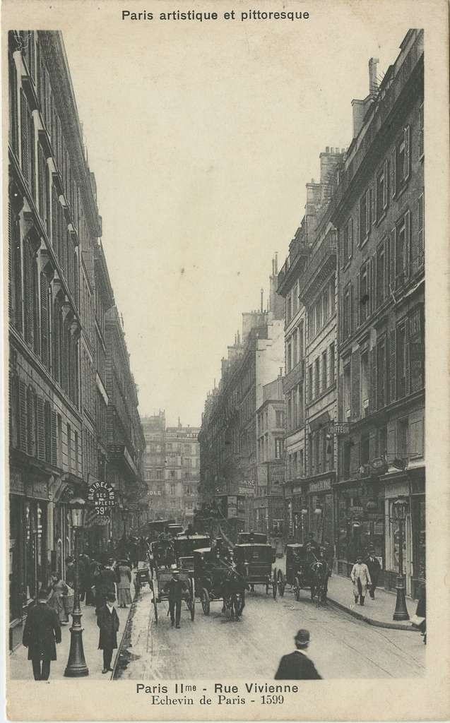 PARIS II° - Rue Vivienne