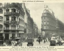 PARIS II° - Rues du 4 Septembre et des Filles St-Thomas