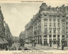 PARIS III° - Rue du Temple