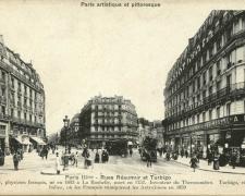PARIS III° - Rues Réaumur et Turbigo