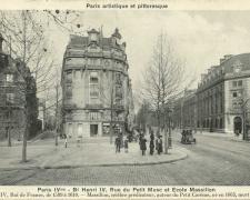 PARIS IV° - Bd Henri IV, Rue du Petit Musc et Ecole Massillon