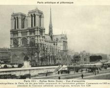 PARIS IV° - Eglise Notre Dame - Vue d'ensemble