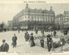 PARIS IV° - Pace de la Bastille