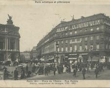 PARIS IX° - Place de l'Opéra - Rue Halévy