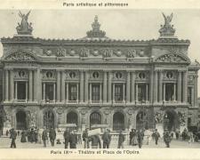 PARIS IX° - Théâtre et Place de l'Opéra